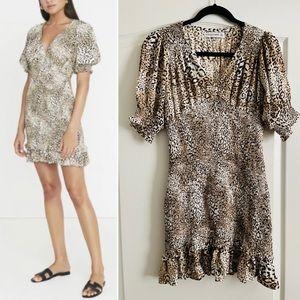 Faithfull the Brand leopard print mini dress 4
